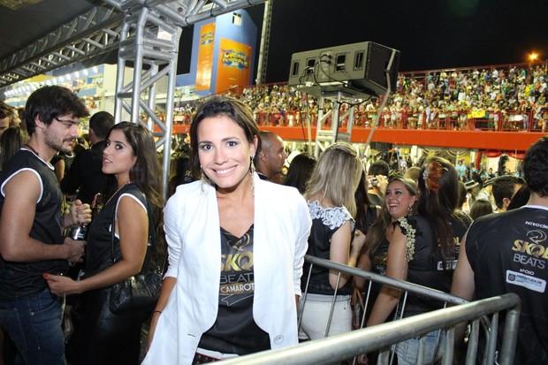 Juliana Knust em Florianópolis (Foto: SUMMERFLORIPA/DIVULGAÇÃO)