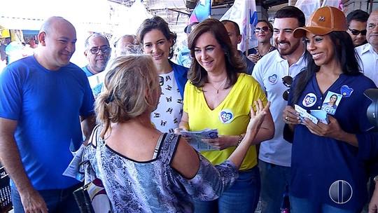 Márcia Maia visita Alecrim e fala sobre estruturação do comércio do bairro