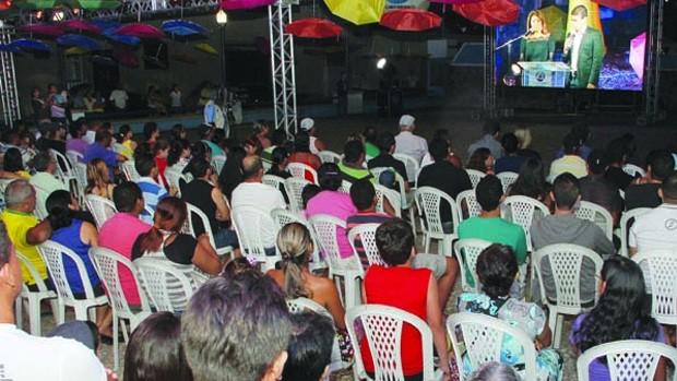 Moradores de Guarabira comparecem a evento da TV Cabo Branco Digital (Francisco França/Jornal da Paraíba)