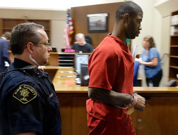 Terrence Williams preso (Foto: AP)