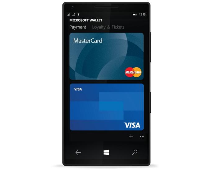 Microsoft Wallet oferece pagamento via aproximação com celulares Lumia (Foto: Reprodução/Elson de Souza)