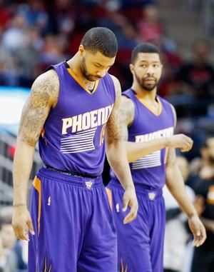 Markieff Morris  Marcus Morris Phoenix Suns NBA (Foto: Reuters)