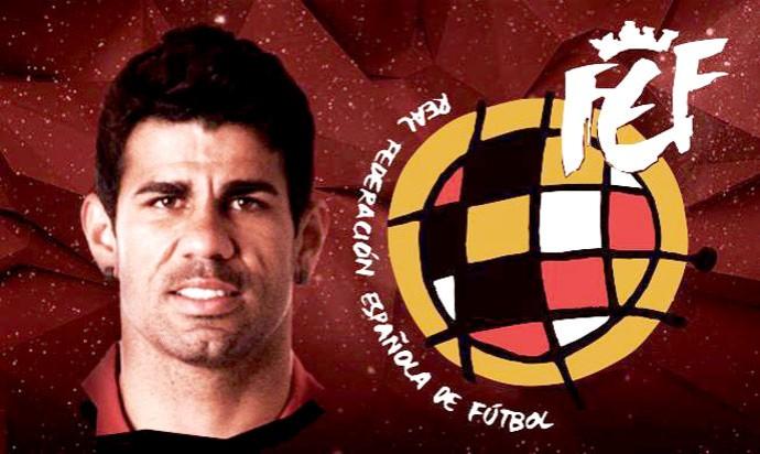 Diego Costa seleção da Espanha (Foto: Reprodução / Twitter)