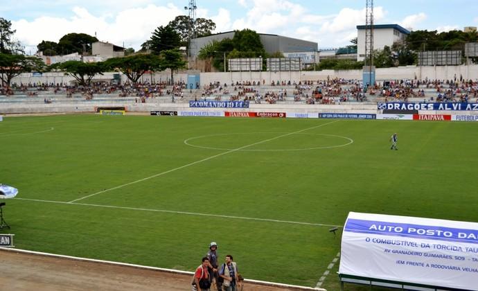 Estádio Joaquinzão Taubaté (Foto: Filipe Rodrigues)