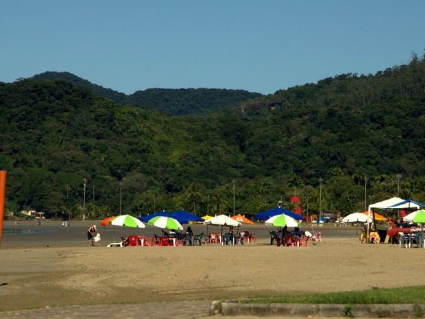 Ranking elencou as praias mais acessíveis do litoral paulista (Foto: Renata de Brito/Prefeitura de Bertioga)