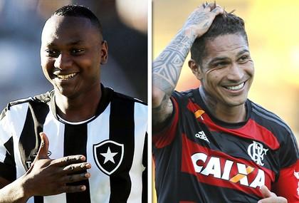 matéria BOT x FLA (Foto: GloboEsporte.com)