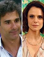 Gilson e Lygia acabam 'de bem' (Cheias de Charme / TV Globo)