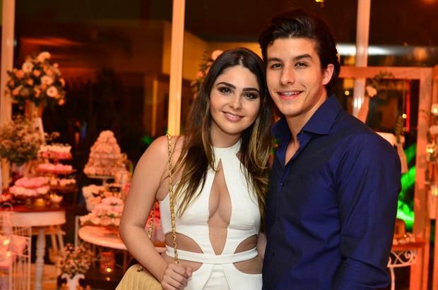 O casal Marcela Barrozo e Ricky Tavares (Foto: Roberto Teixeira/EGO)