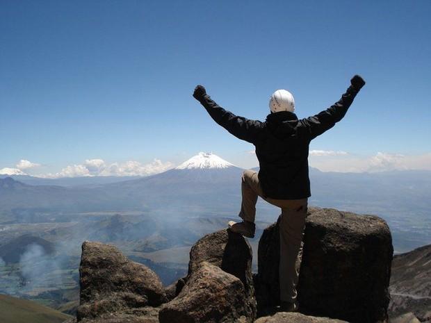 Roberto Souza no Equador (Foto: Arquivo pessoal)
