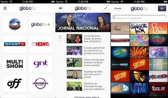 Perdeu algum lance da copa? Assista no Globo.tv (Foto: Divulgação/AppStore)