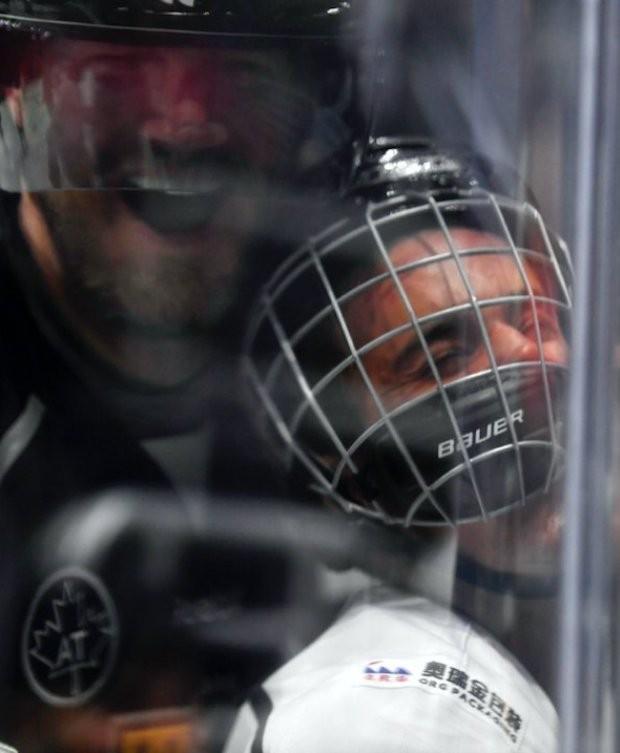 Chris Pronger e Justin Bieber (Foto: Reprodução/Twitter)
