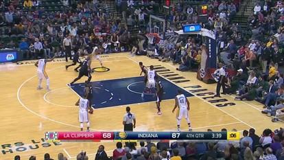 Melhores momentos de Los Angeles Clippers 70 x 91 Indiana Pacers pela NBA