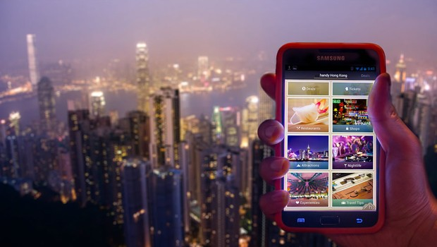 Empresa aluga smartphones com pacotes de dados e aplicativos úteis para turistas (Foto: Divulgação)