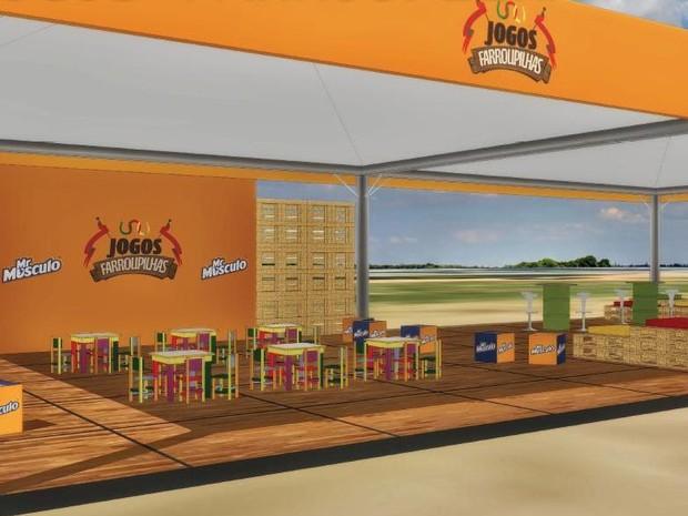 Atividades para crianças serão oferecidas em uma das tendas dos Jogos Farroupilhas  (Foto: Reprodução)