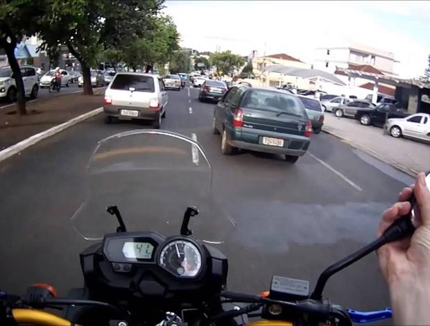 Moto no trânsito Mundomoto