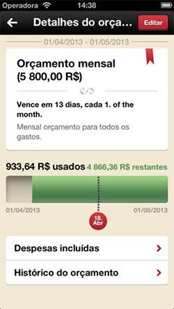 Toshl Finanças (Foto: Reprodução)