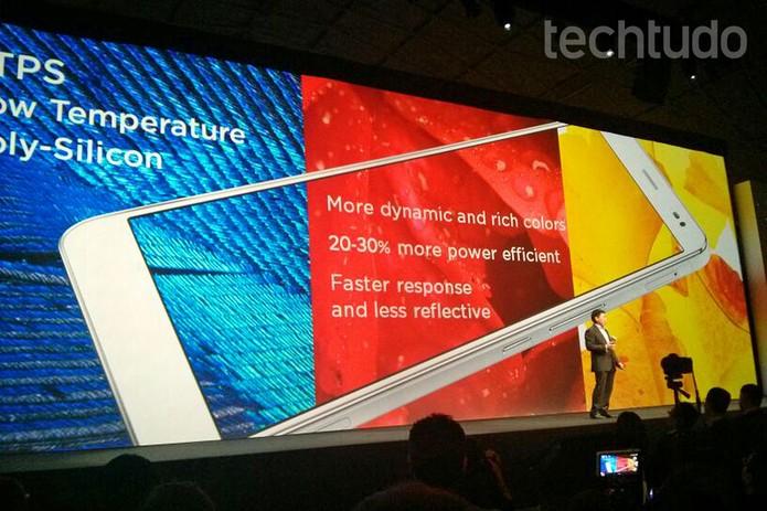 Huawei apresenta novidades no MWC 2014 (Foto: Isadora Díaz/TechTudo)