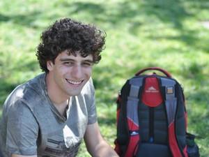 Marco Antônio estuda no Instituto de Tecnologia de Massachussets e foi o idealizador do projeto (Foto: Teresinha Pedroso/Arquivo Pessoal)