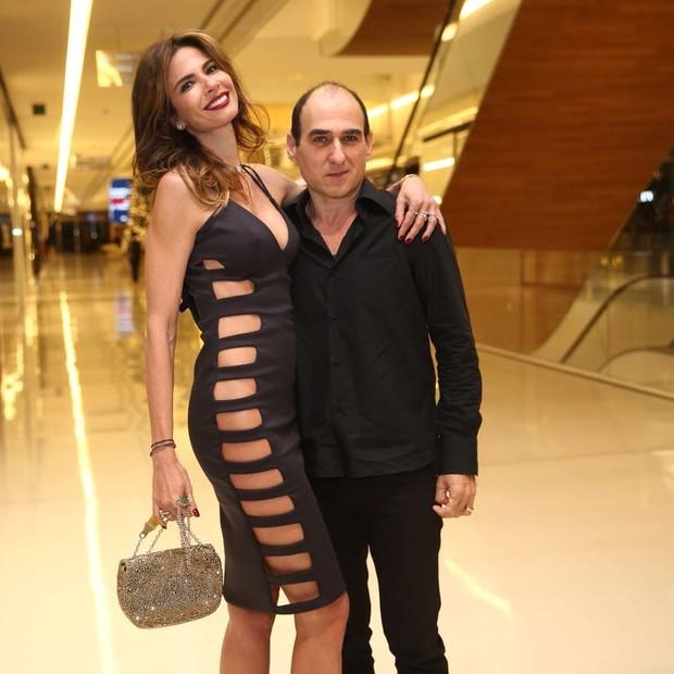Luciana Gimenez e Amir Slama (Foto: Agência Brazil News)