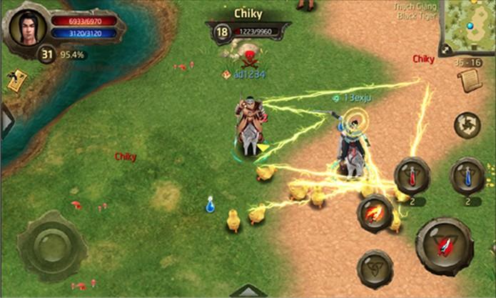 Spirit of Hero é um RPG multiplayer online para Windows Phone (Foto: Divulgação/Windows Phone Store)