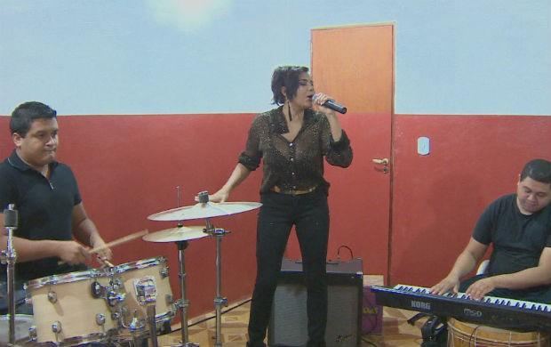 Ensaio da Banda Babilônia (Foto: Reprodução/TV Amapá)