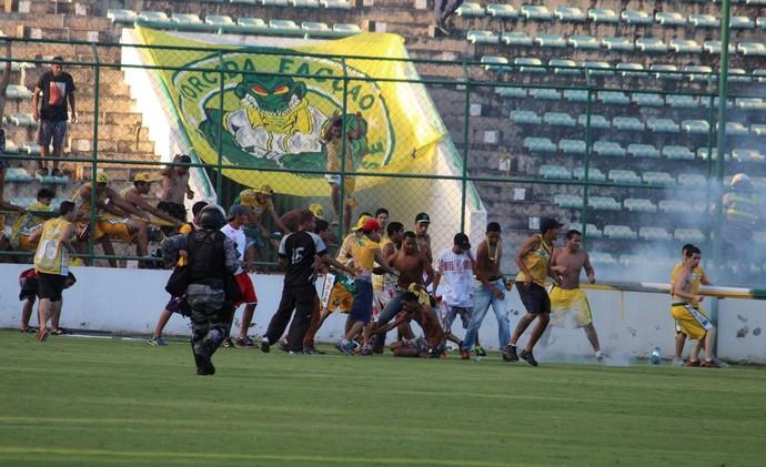 Gama x Brasiliense (Foto: Douglas Oliveira / Gama)
