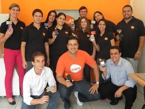 Equipe da PagPop, cujo público-alvo são operações pequenas que ainda não aceitam cartão (Foto: Divulgação)