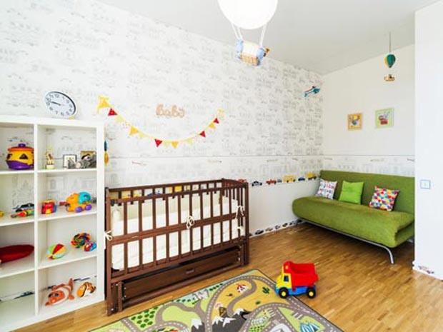 G1  Saiba como escolher papéis de parede para o quarto do bebê  notícias em
