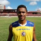 Moacri, zagueiro do Campinense (Foto: João Brandão Neto / GloboEsporte.com/pb)
