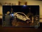 Viatura da Guarda Municipal cai em canal durante perseguição, em Belém