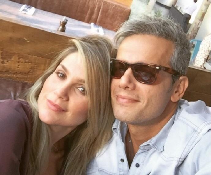 Flávia Alessandra e Otaviano Costa estão casados há 10 anos (Foto: Arquivo Pessoal)