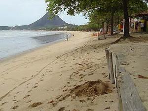 Praia em Púma. (Foto: Sara Moreira/ Arquivo A Gazeta)