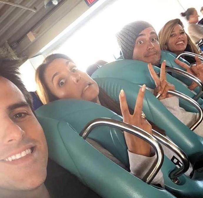 Dany Bananinha aproveita viagem a Orlando com Ivete Sangalo e André Marques (Foto: Arquivo pessoal)