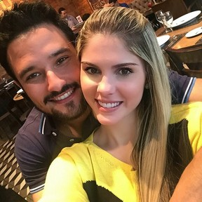 Bárbara Evans e Fabrício Assunção (Foto: Reprodução/ Instagram)