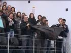 Estudantes protestam contra Beto Richa na Câmara de Ponta Grossa