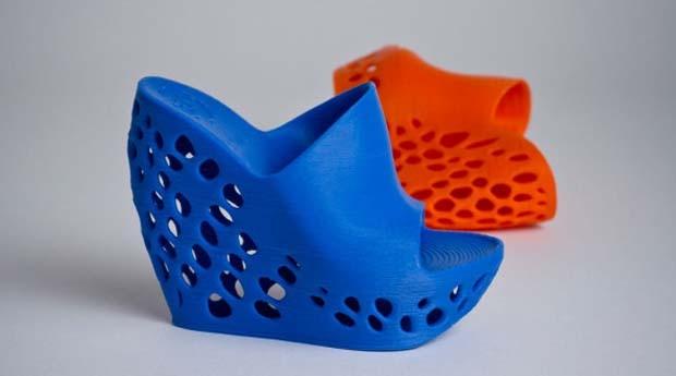 Sapato do designer Janne Kyttanen feito em impressora 3D (Foto: Divulgação)