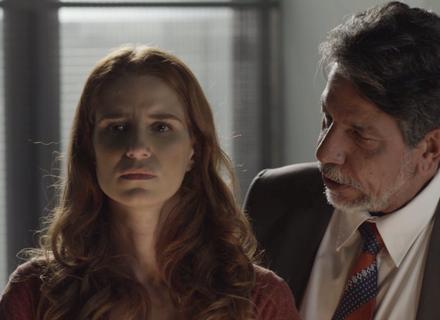 Teaser: Mônica e Evandro são capturados pela polícia