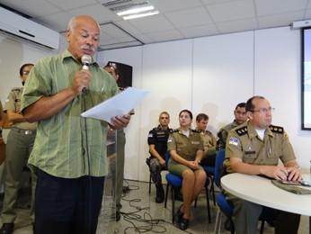 José Moura, representante do bloco Deixa Falar, afirmou estar satisfeito com os novos horários (Foto: Moema França/G1)
