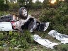 Amigos morrem e filhos se ferem em acidente na BR-153, em Goiás