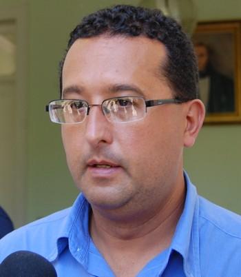 Alexandre Beck, presidente Serrano (Foto: Chandy Teixeira/Globoesporte.com)