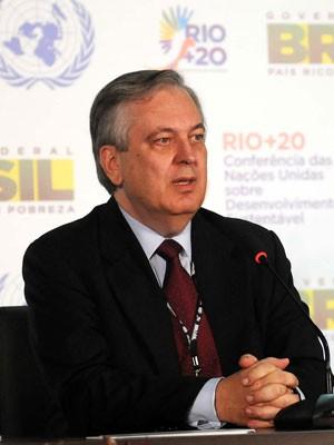 Embaixador brasileiro Luiz Alberto Figueiredo, um dos negociadores-chefes da delegação brasileira (Foto: Alexandre Durão/G1)
