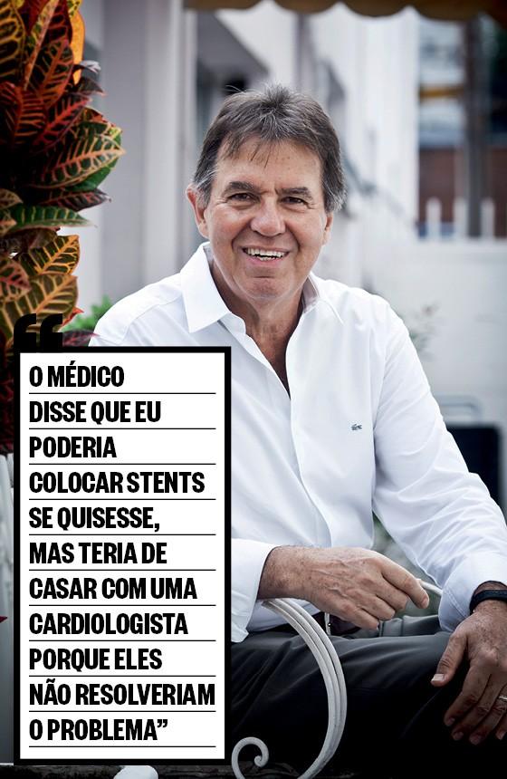 O ortopedista Mauro Caravaggi, de 66 anos. Ele descobriu vasos obstruídos no coração e resolveu o problema com uma operação complexa. Os stents, para desobstruir vasos, são um exemplo de técnica superindicada (Foto: Letícia Moreira/ÉPOCA)