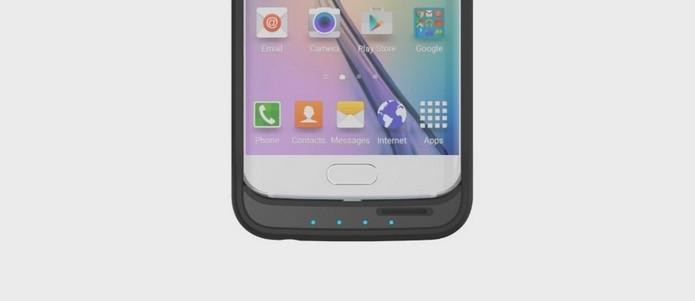Capa Offgrid, para Galaxy S6 e Edge, dobra bateria e adiciona suporte a cartão SD (Foto: Divulgação)