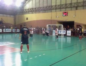 Copa TV TEM, em São Roque, jogo masculino São Roque x Piedade (Foto: Rafaela Gonçalves / GloboEsporte.com)