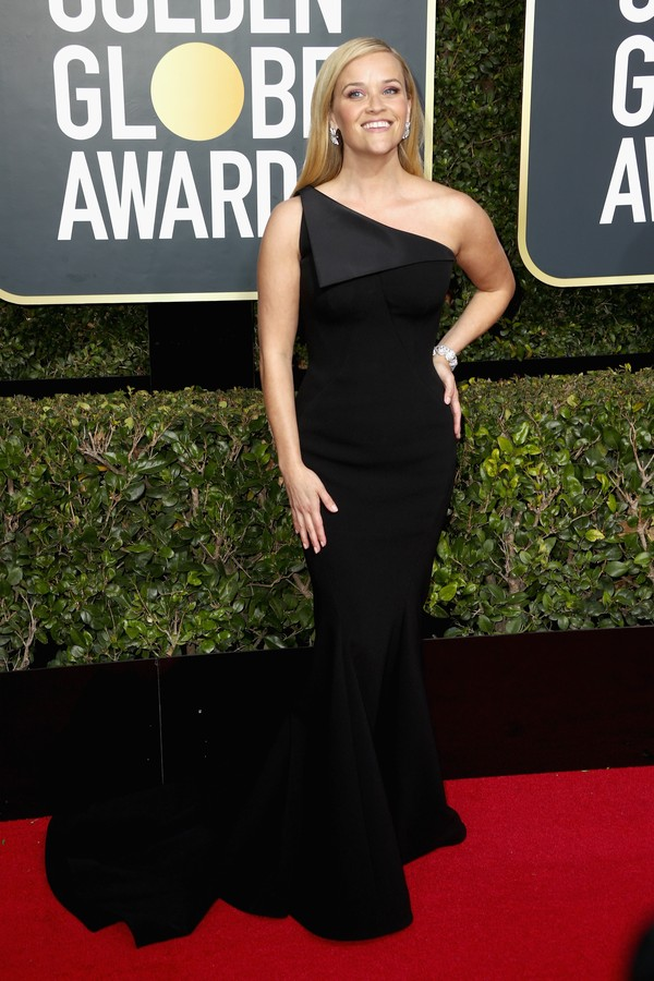 BEVERLY HILLS, CA - JANUARY 07:  Reese Witherspoon attends The 75th Annual Golden Globe Awards at The Beverly Hilton Hotel on January 7, 2018 in Beverly Hills, California.  (Photo by Frederick M. Brown/Getty Images) (Foto: Getty Images)