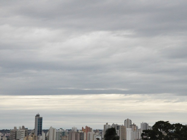 Tempo em Campo Grande, MS (Foto: Adriel Mattos/G1 MS)