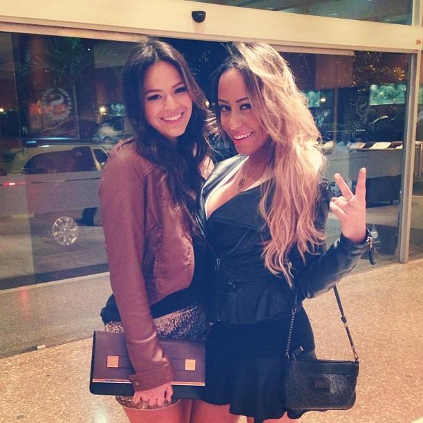 Bruna Marquezine e Rafaella Santos (Foto: Reprodução/Instagram)
