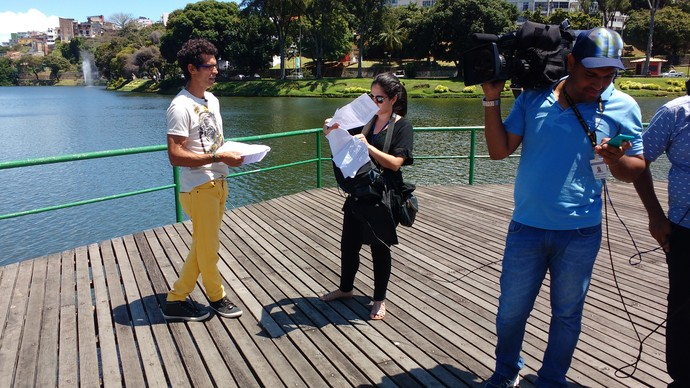 Bastidores 'Aprovado' de sábado, 17 (Foto: TV Bahia)