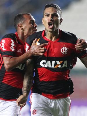 Guerrero comemoração Flamengo x Cruzeiro (Foto: Gilvan de Souza/Flamengo)