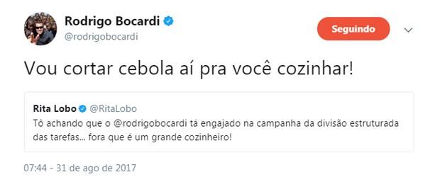 Rita Lobo repercutiu comentário de Rodrigo Bocardi (Foto: Reprodução/Twitter)